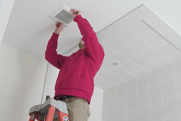 Ventilation-Fan-Panasonic Butterwick Construction Edmonton